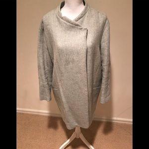 Zara coat with snaps